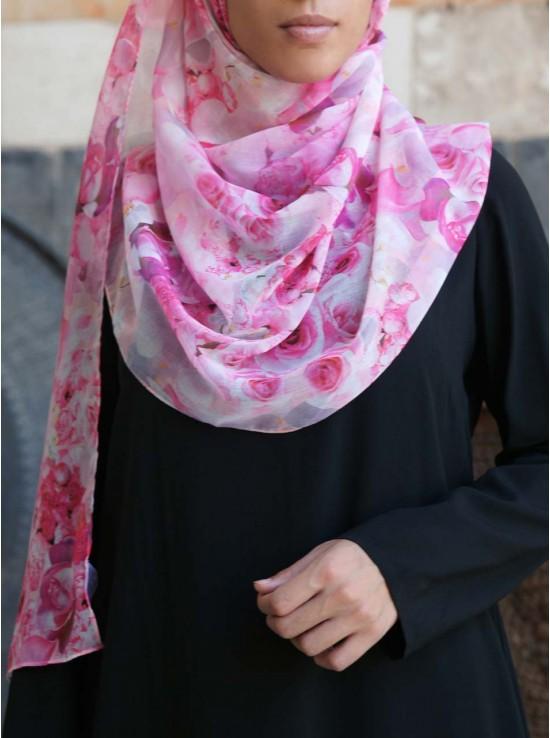 Pretty In Pink Hijab