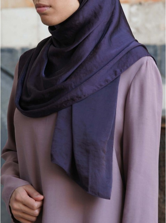 Luxury Hammered Satin Hijab