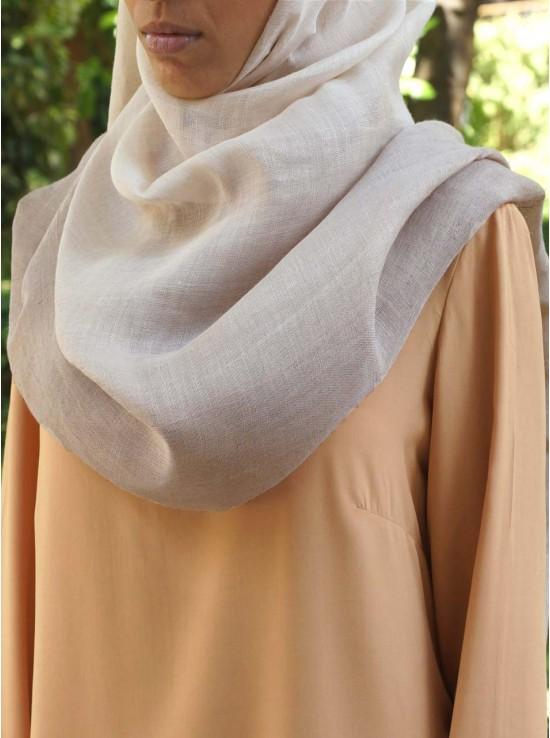 Linen Blend Ombre Maxi Hijab