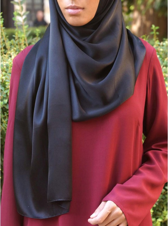 Luxury 100% Silk Hijab
