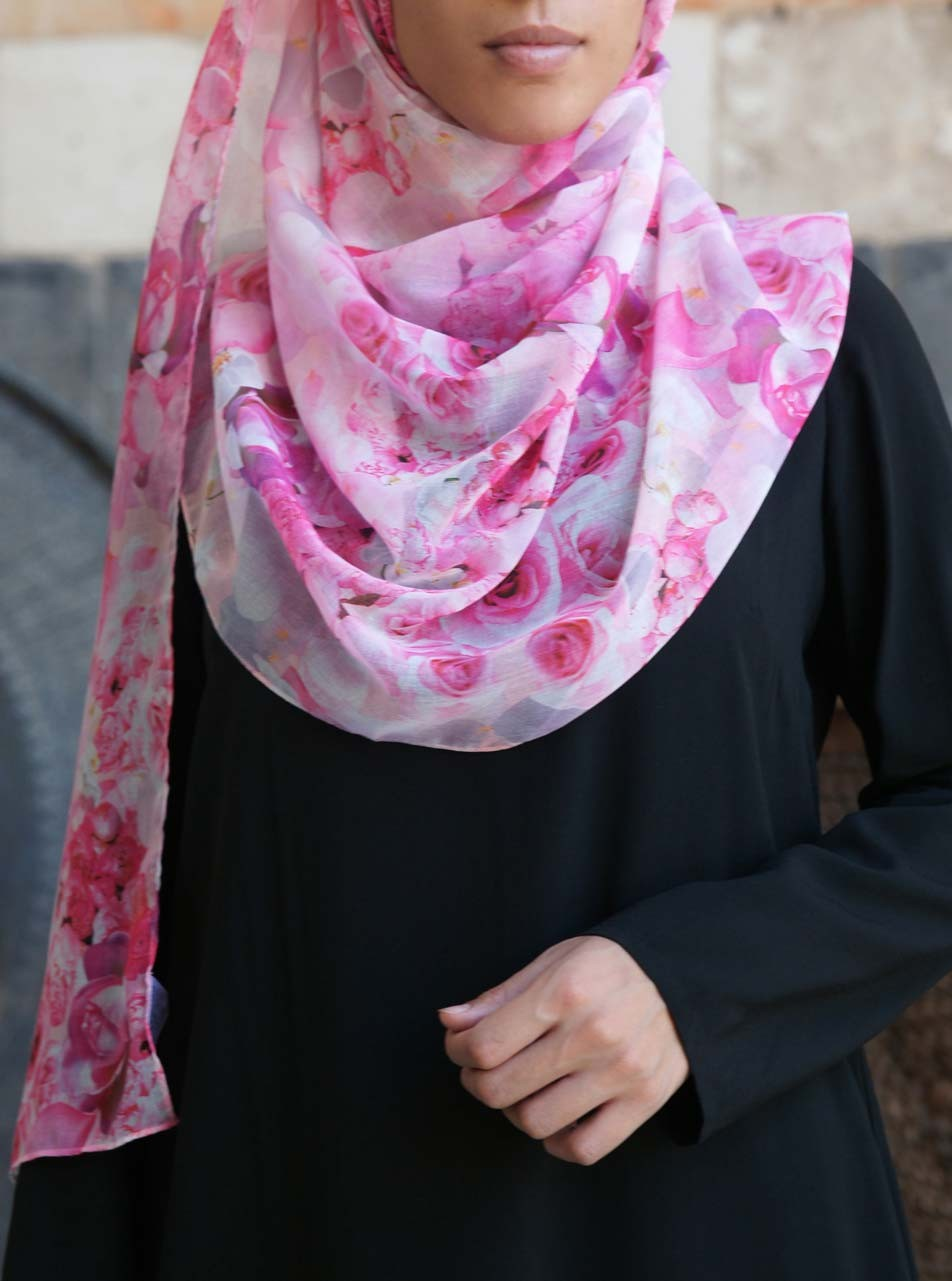 Pretty In Pink Hijab