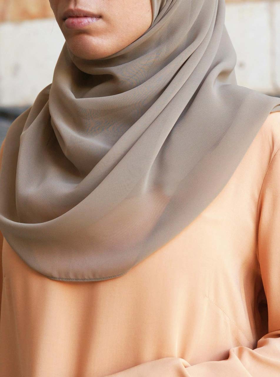 Light Georgette Hijab