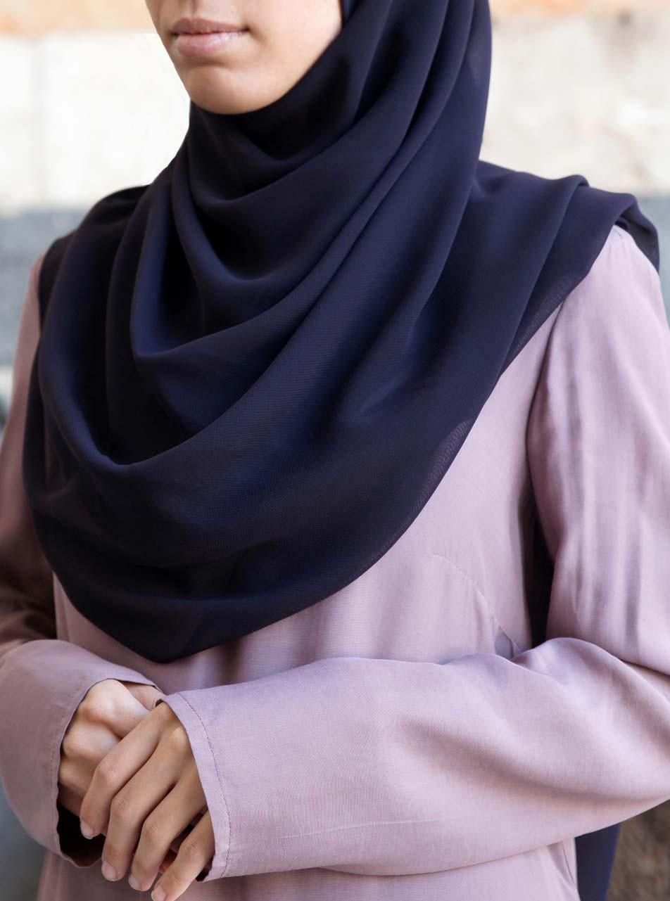 Light Georgette Hijab