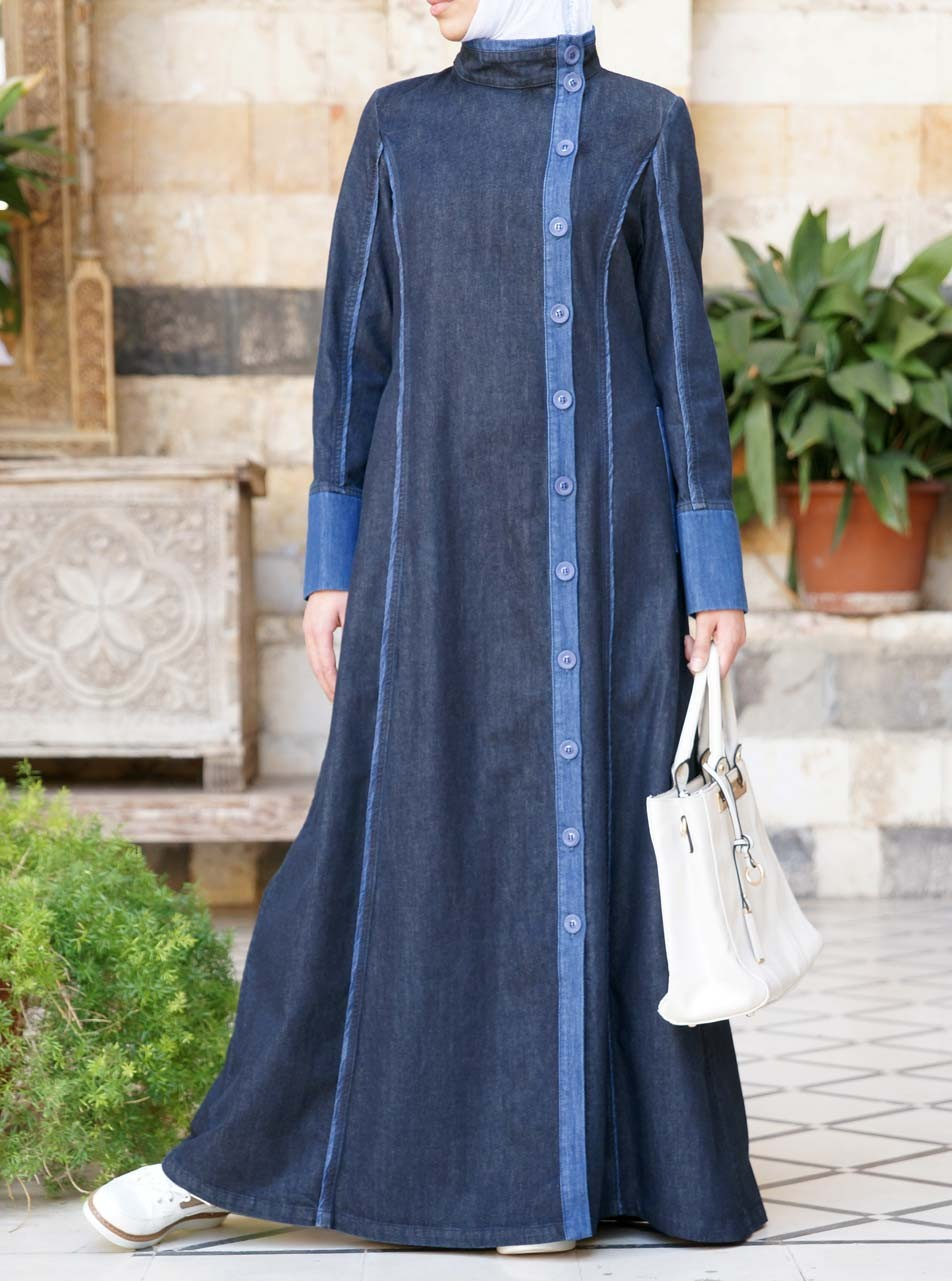 Denim Yusra Jilbab After Eid Sale Women