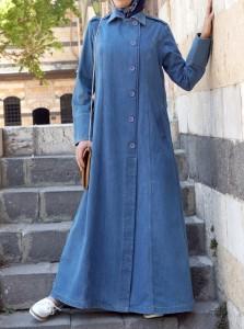 Nasirah Denim Coat