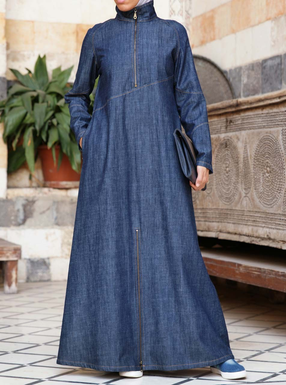 Denim Figueroa Maxi Dress
