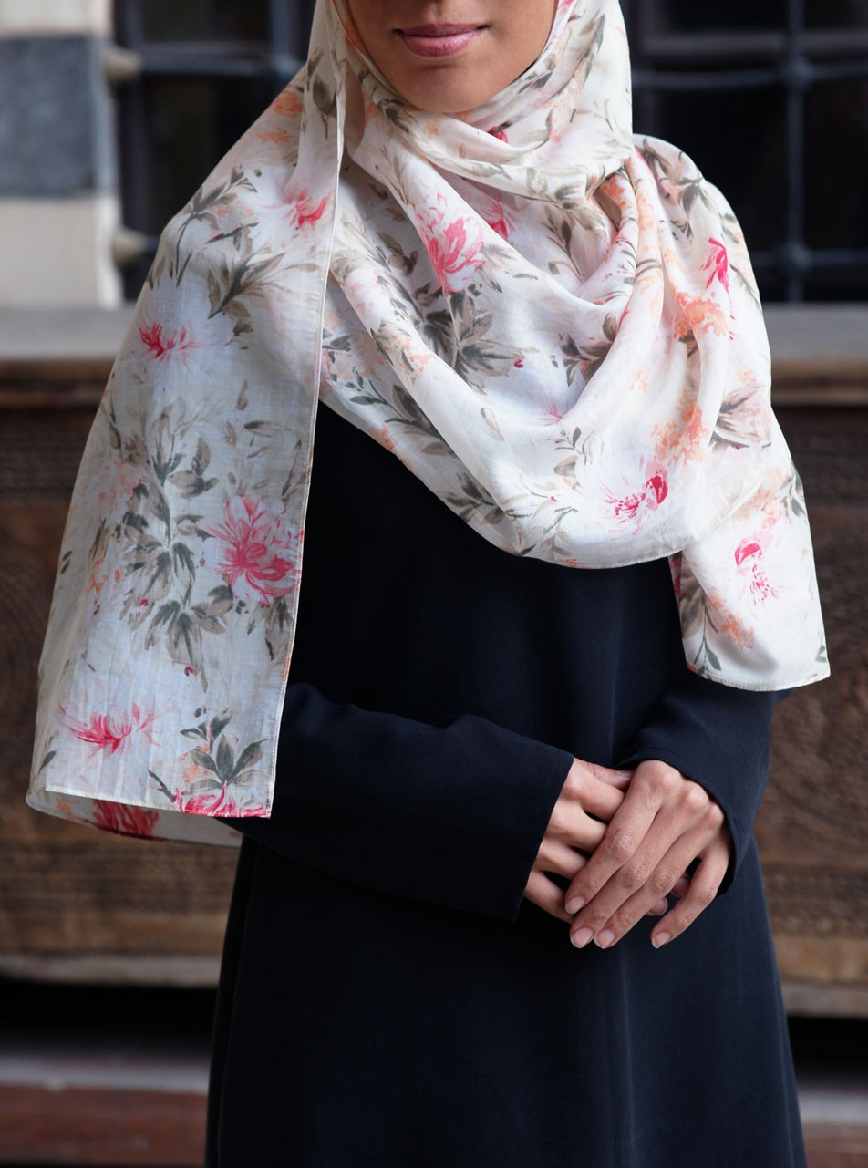 Cotton and Silk Dreamy Hijab