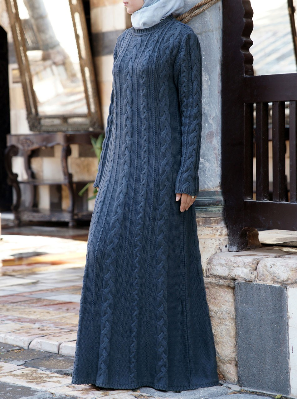 Cable Knit Maxi Dress