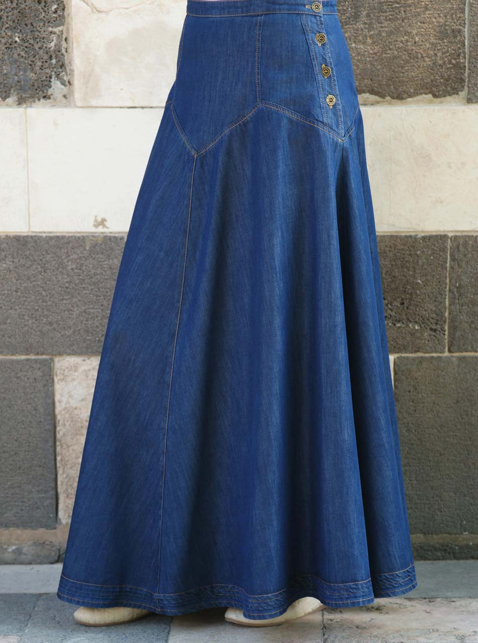 Denim Dream Maxi Skirt