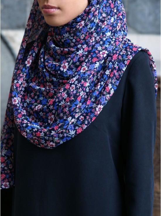 Assorted Flowers Chiffon Hijab