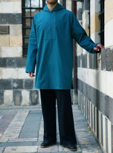 Tahmid Hooded Tunic