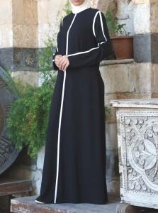 Clean Lines Abaya