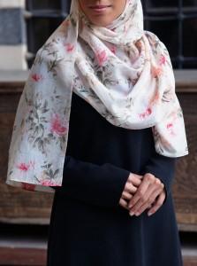 Cotton and Silk Dreamy Hijab
