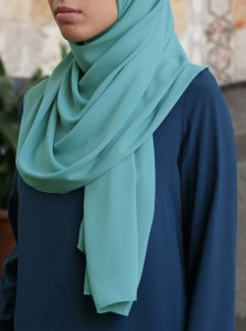 Royal Georgette Hijab