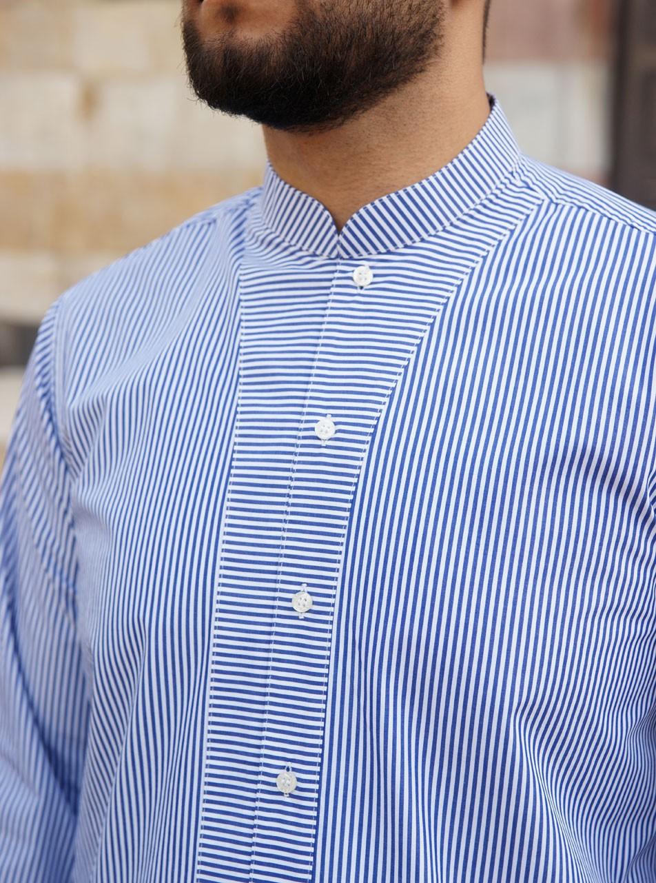 Qatada Striped Shirt