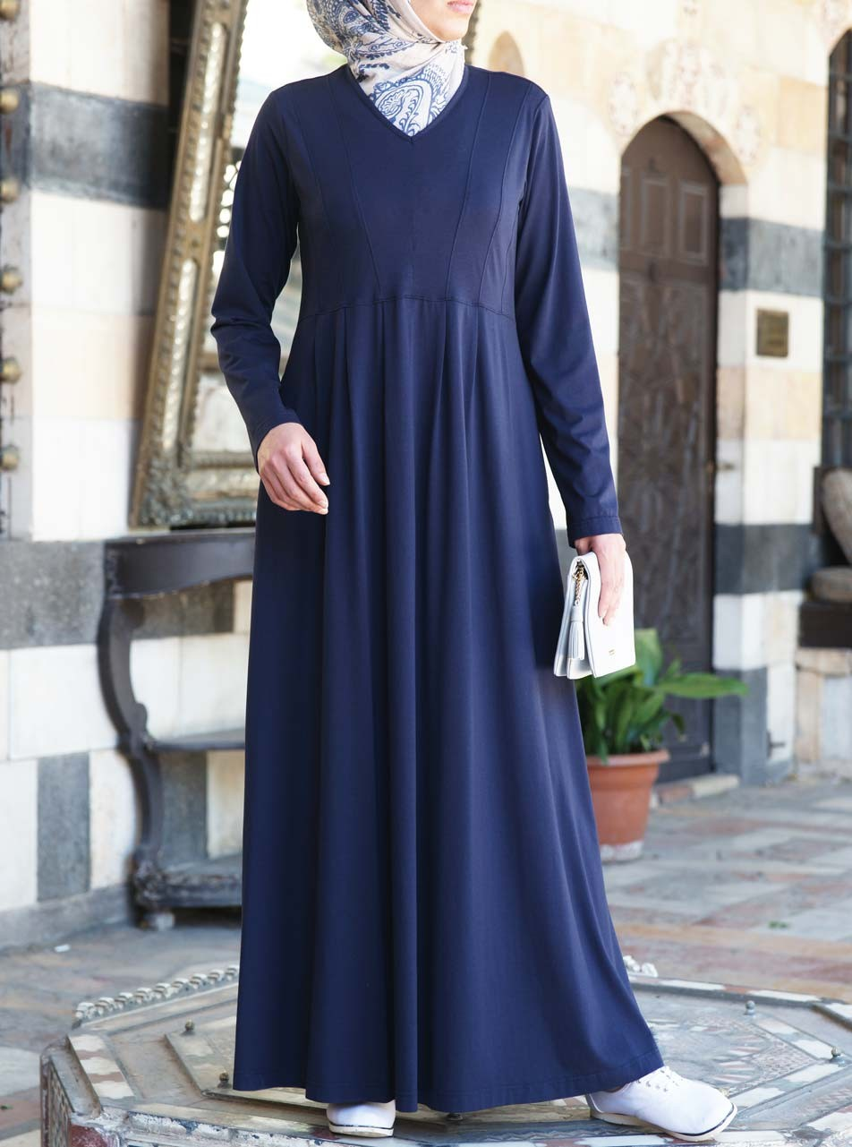 Modal and Cotton Aliyah Abaya