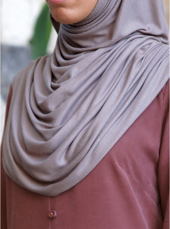 Modal Rib Jersey Maxi Hijab