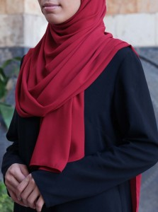 Royal Georgette Hijab
