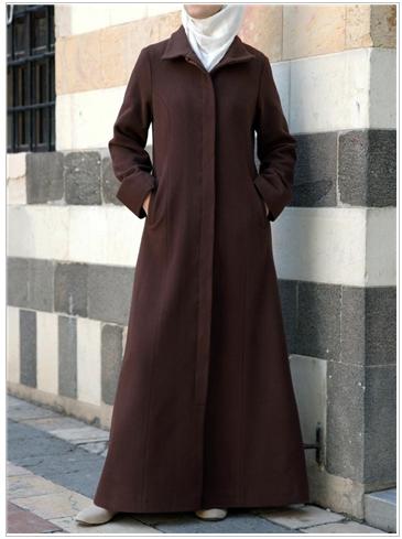 SHUKR Classic Wool Coat