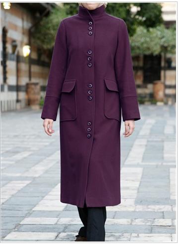 SHUKR Senada Wool Coat