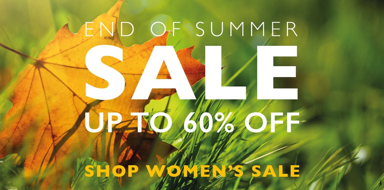 Summer End Sale