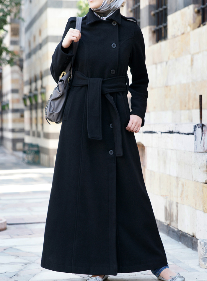 Nasirah Woolen Coat