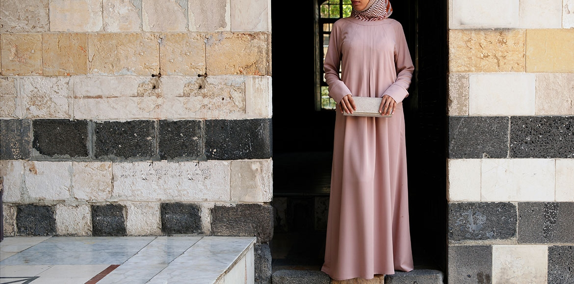 On-The-Go Abaya Dress