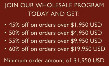 Join our wholesale program today!